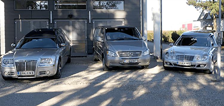 Leichenwagen Fuhrpark